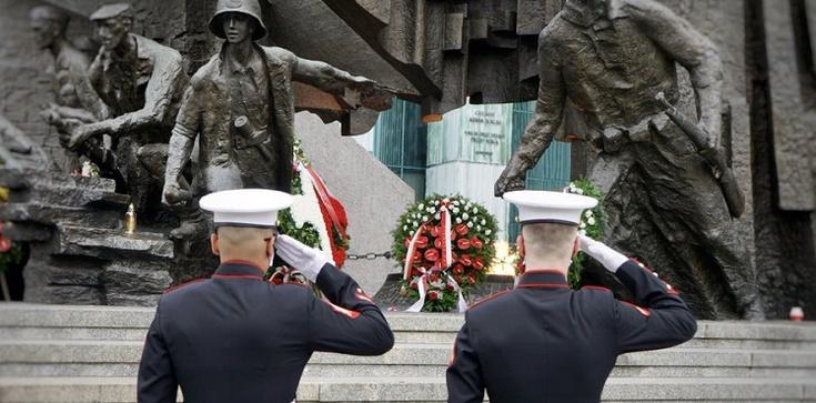 Mosbacher w rocznicę powstania '44: ,,Oddajemy cześć Waszemu poświęceniu'' - zdjęcie