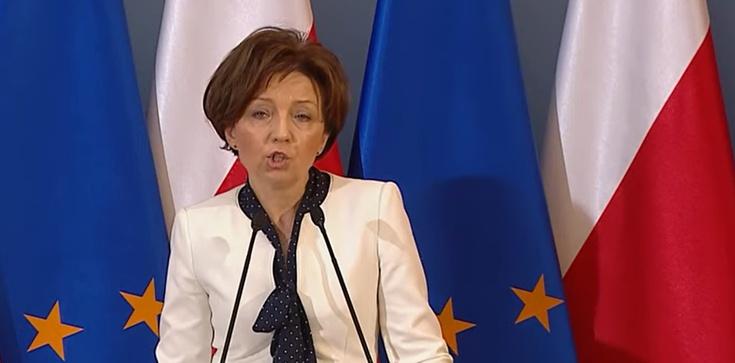 Minister Maląg do Trzaskowskiego w sprawie blokady środków dla przedsiębiorców - zdjęcie