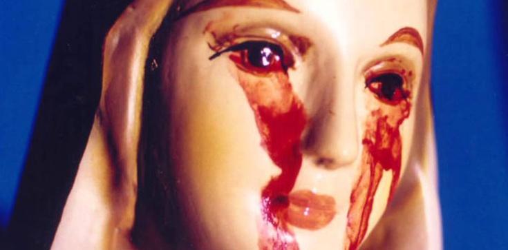 Cudowna Figura Matki Bożej z Naju płakała krwawymi łzami. Maryja płacze nad światem biegnącym ku własnej zgubie - zdjęcie