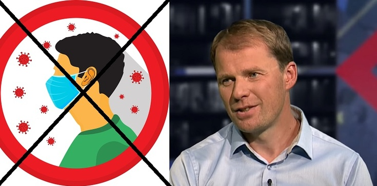TYLKO U NAS. Dr Mariusz Błochowiak: Maseczki nie chronią przed koronawirusem. Decyzja o ich noszeniu jest czysto polityczna - zdjęcie