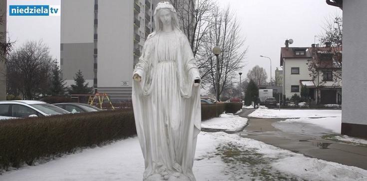 Częstochowa. Kolejna obrzydliwa profanacja figury Matki Bożej - zdjęcie