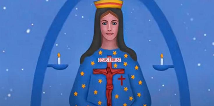 Francja. Matka Boża Nadziei. 150-lecie objawień maryjnych w Pontmain - zdjęcie