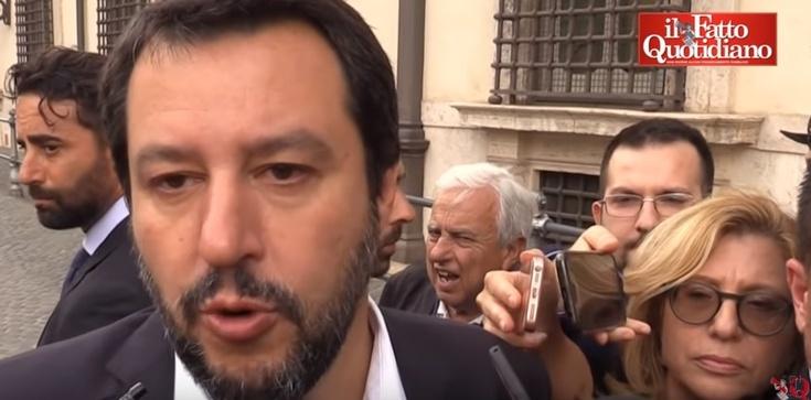 Matteo Salvini: 'Chcemy Europy wartości i tożsamości, a nie banków' - zdjęcie