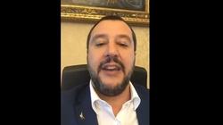 Salvini: pożegnamy UE, nawet nie dziękując - miniaturka