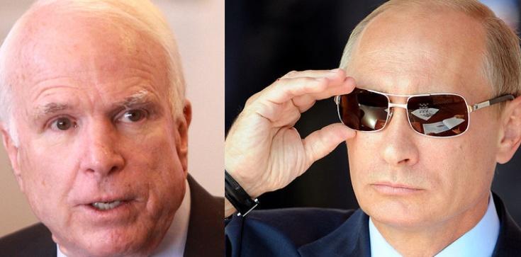 McCain mocno o zgubnym wpływie Rosji! - zdjęcie