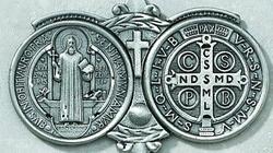Medalik św. Benedykta - pomoc duchowa na dzisiejsze czasy - miniaturka