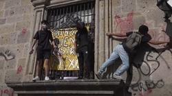 Ataki na kościoły podczas demonstracji w Meksyku - miniaturka