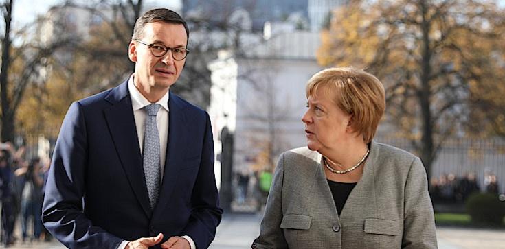 Merkel ujawniała rozmowę z premierem Morawieckim - zdjęcie