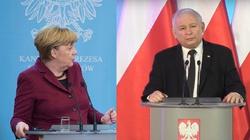 J. Kaczyński: Nasz rząd dba o interesy Polski, nie Niemiec - i to przeszkadza - miniaturka