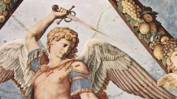 Koronka Uwielbienia Boga ze Świętym Michałem Archaniołem i Chórami Aniołów - miniaturka