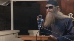 Krzyk szatana w trakcie egzorcyzmu w Czarnogórze - miniaturka