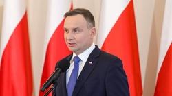Prezydent Andrzej Duda: Nie podporządkuję się żadnej zewnętrznej władzy. Jeśli oczekujecie czego innego - nie wybierajcie mnie - miniaturka