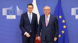 I o to chodzi! Juncker cofa się przed Morawieckim - miniaturka