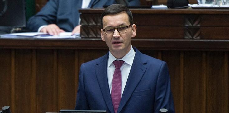 Expose premiera i gorący dzień w Sejmie - zdjęcie