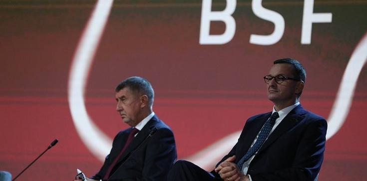 Premier Morawiecki na spotkaniu BSF: Europa Środkowa jest obwiniana, bo się rozwija, bo stajemy się bardziej konkurencyjni  - zdjęcie