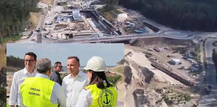 [Wideo] Imponujące postępy prac na kanale żeglugowym na Mierzei Wiślanej. Serce rośnie - zdjęcie