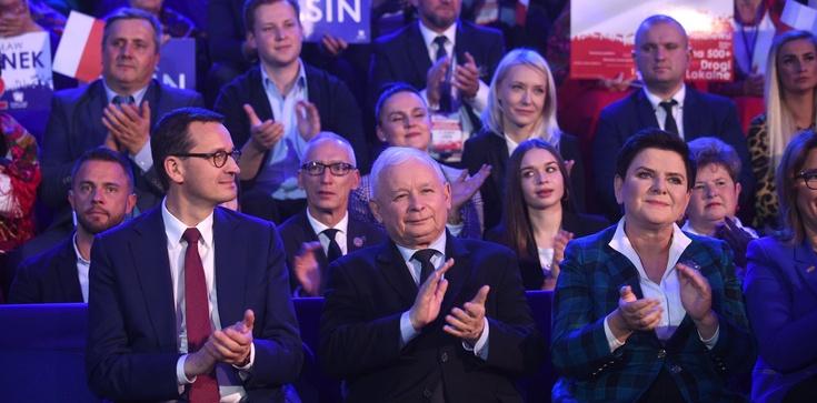 Sondaż: PiS wciąż zdecydowanym liderem - zdjęcie