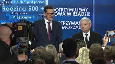 Premier skomentował doniesienia o odejściu Jarosława Kaczyńskiego z rządu - miniaturka