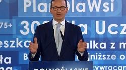 Mateusz Morawiecki: Opozycja chce rozczłonkowania Polski - miniaturka