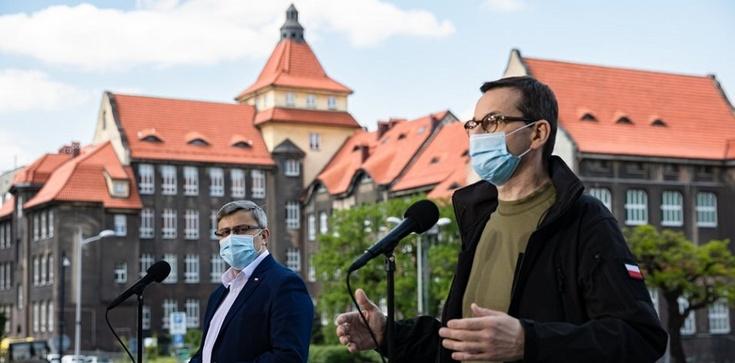 Morawiecki: Śląsk to gospodarcze serce Polski. Dbamy o minimalizację wpływu epidemii na gospodarkę - zdjęcie