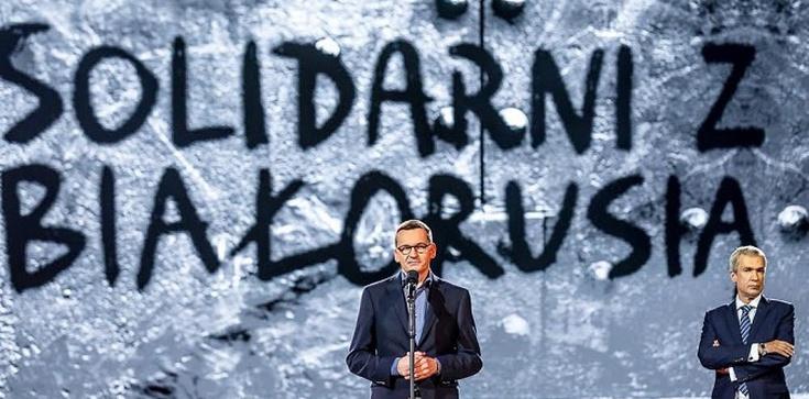 Premier Morawiecki o koncercie Solidarni z Białorusią: ,,pragnęliśmy wolności i walczyliśmy o nią''. Mówili: ,,sowieci na to nie pozwolą!'' - zdjęcie