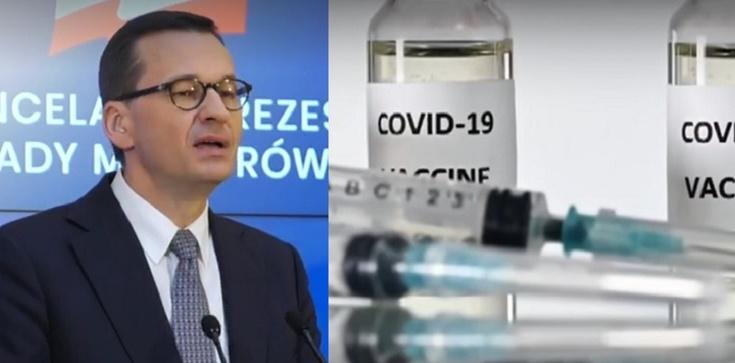 Premier Morawiecki pisze do premier Danii ws. odkupienia niewykorzystanych szczepionek Johnson&Johnson - zdjęcie