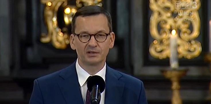Premier Morawiecki w Lublinie: To stąd ruszyła lawina, której nikt już nie mógł zatrzymać - zdjęcie