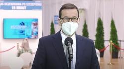 Uwaga! Premier Morawiecki: Odporność zbiorowa możliwa za mniej niż dwa miesiące - miniaturka