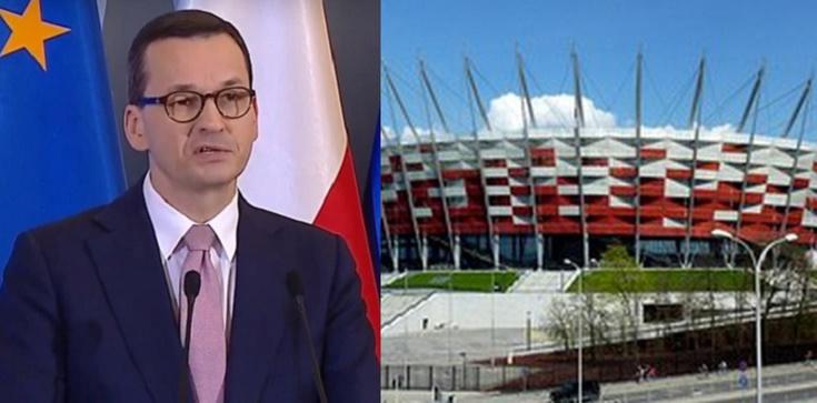 Premier o szpitalu polowym na Stadionie Narodowym: Musimy brać pod uwagę różne scenariusze - zdjęcie