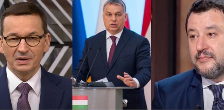 W czwartek spotkanie Morawieckiego, Orbana i Salviniego w Budapeszcie - zdjęcie