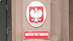 MSZ: Polska w pełni popiera decyzję Czech dot. wydalenia rosyjskich dyplomatów - miniaturka