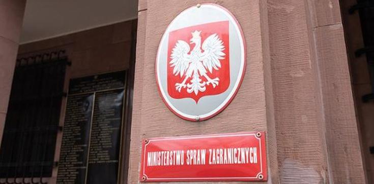 ,,Persona non grata'' - Polska odpowiada Rosji na wydalenie dyplomatów - zdjęcie