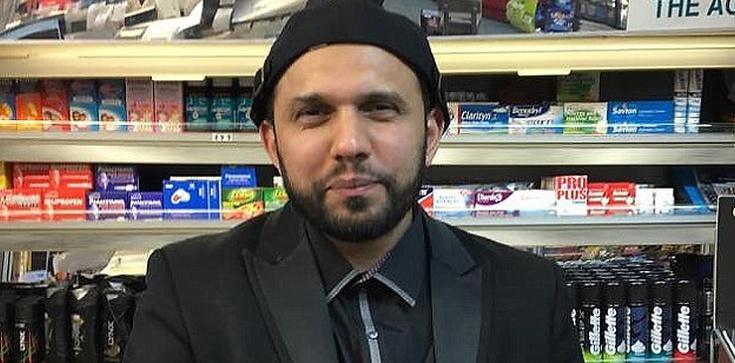 Muzułmański sklepikarz z Glasgow złożył życzenia chrześcijanom z okazji świąt. Został zaszlachtowany  - zdjęcie