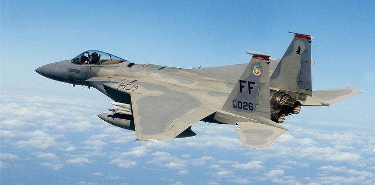 Amerykańskie F-15C na Ukrainie. Cel: ''bezpieczeństwo'' - zdjęcie