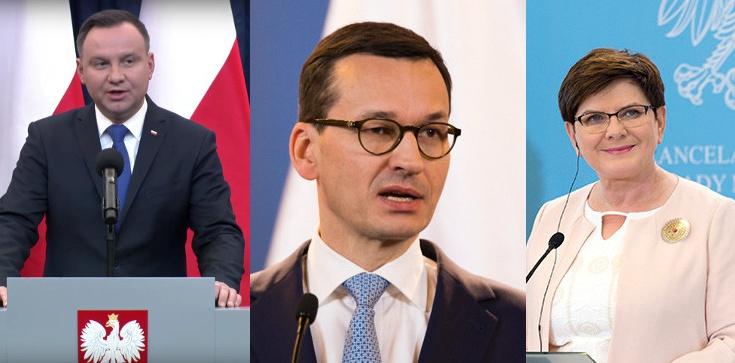 Prezydent, premier i wicepremier liderami zaufania - zdjęcie