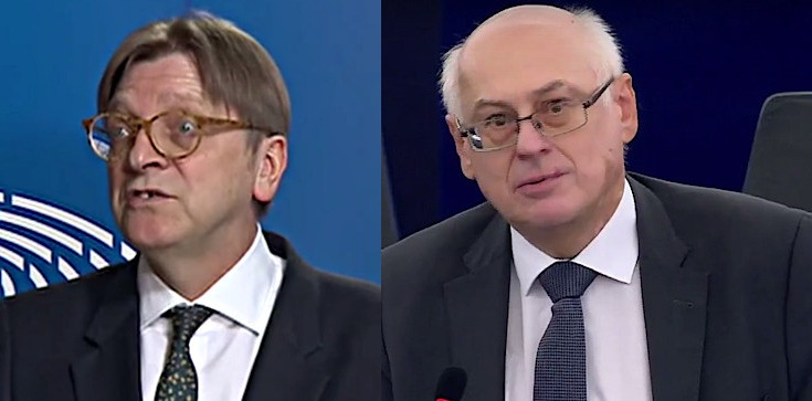 Dosyć szkalowania Polski przez Verhofstadta!!! Prof. Zdzisław Krasnodębski i Marek Jurek piszą do Tajaniego - zdjęcie