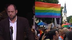 Dla Hartmana paradujący geje to ,,prawdziwi chrześcijanie'', a Kościół przez stulecia torturował i mordował sodomitów - miniaturka