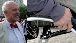 Skandaliczne słowa JKM. Nazwał opiekunów niepełnosprawnych ''szantażystami'' : Żyli bez zasiłków, to mogą żyć dalej - miniaturka