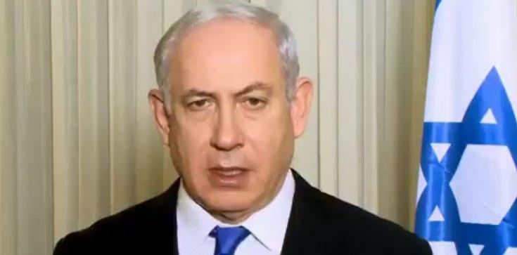 Spotkanie wyborcze Netanjahu zakłócone rakietą. Premier Izraela musiał zejść do schronu - zdjęcie