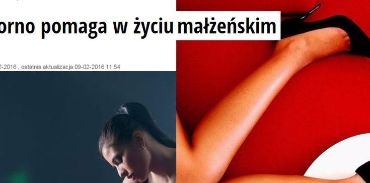 Jak Newsweek promuje pornografię: Porno pomaga w życiu małżeńskim. NIE WIERZMY KŁAMCOM! - zdjęcie