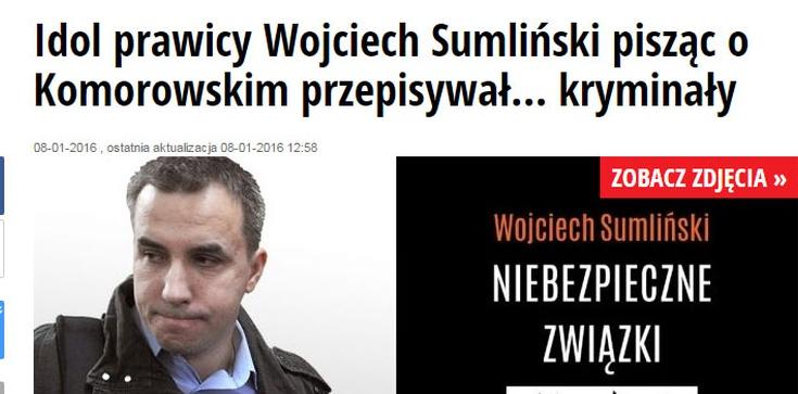 Sumliński odpowiada na kłamstwa polskojęzycznej niemieckiej gazety Newsweek - zdjęcie