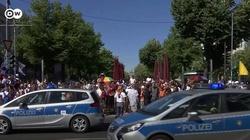 Z ostatniej chwili. Niemcy. Protest antycovidowców przed Bundestagiem - miniaturka