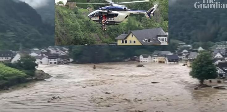 [Wideo] Horror powodziowy w Niemczech. Cofająca się woda odsłania ciała zmarłych. Pomaga wojsko - zdjęcie