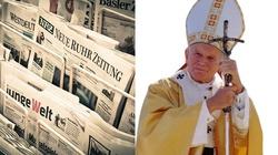 Niemieckie media ,,polskimi ustami'' ponownie atakują św. Jana Pawła II - miniaturka