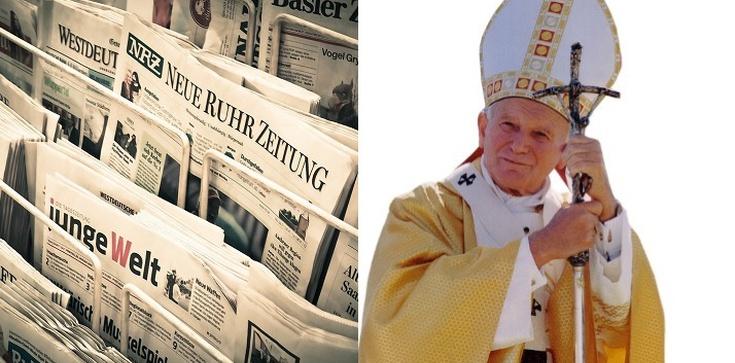 Niemieckie media ,,polskimi ustami'' ponownie atakują św. Jana Pawła II - zdjęcie