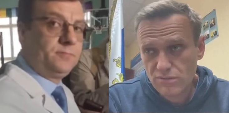 Odnaleziono byłego szefa szpitala, w którym leczony był Aleksiej Nawalny - zdjęcie