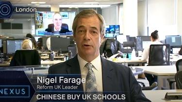 Nigel Farage: Brytyjskie szkoły są sprzedawane Chinom - miniaturka