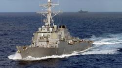 Amerykański niszczyciel zderzył się z obcym statkiem - miniaturka