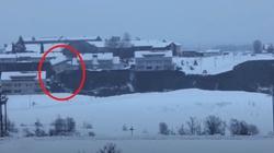 Norwegia. Zapadła się część miasta. Służby poszukują 21 osób [Wideo] - miniaturka