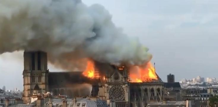 Znamy prawdopodobne przyczyny pożaru katedry Notre-Dame w Paryżu - zdjęcie